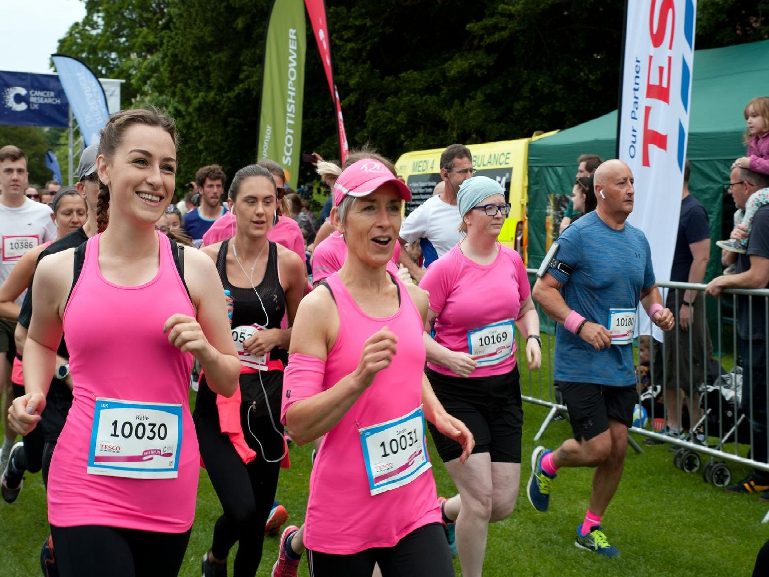 Race for life in Alexandra Park. Photo by Frank Copper