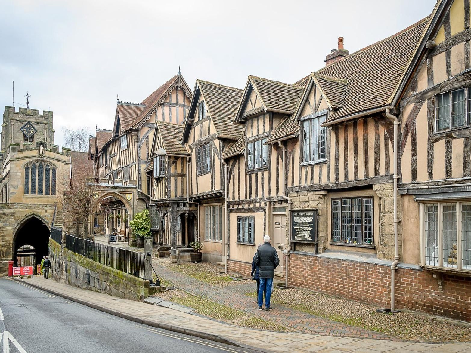The Lord Leycester Hospital.