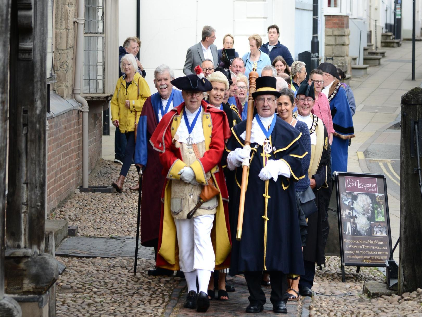 Warwick Court Leet's Assizes Day 2019. Photo by Gill Fletcher