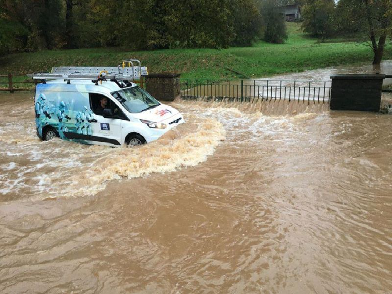 The Ford in Kenilworth (Thursday November 14 photo by Rob Stanton)