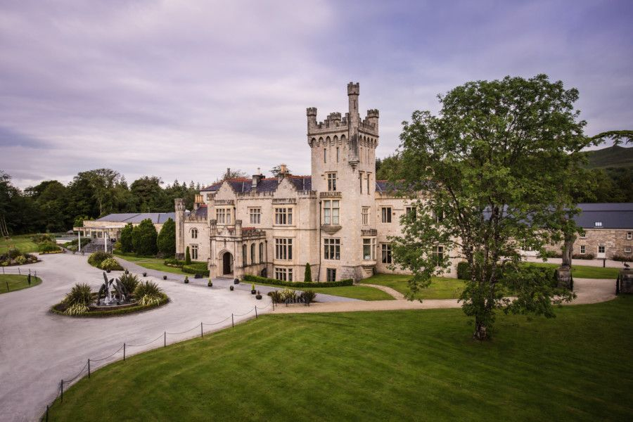Lough Eske: Set within 43 acres of forest at the foot of the mountains in Donegal, this castle has been a place for entertaining guests since 1861.