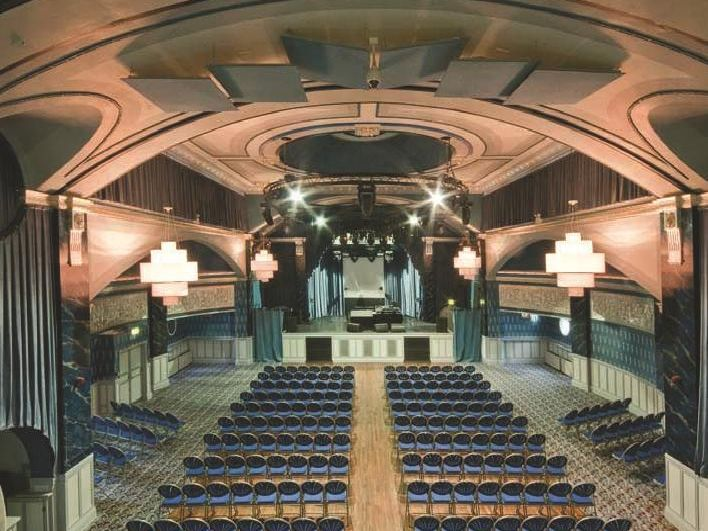 The interior of the venue
