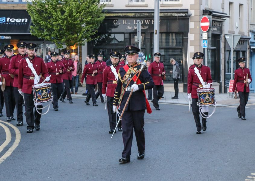 William King Memorial Flute Band Londonderry Pic by Norman Briggs rnbphotographyni