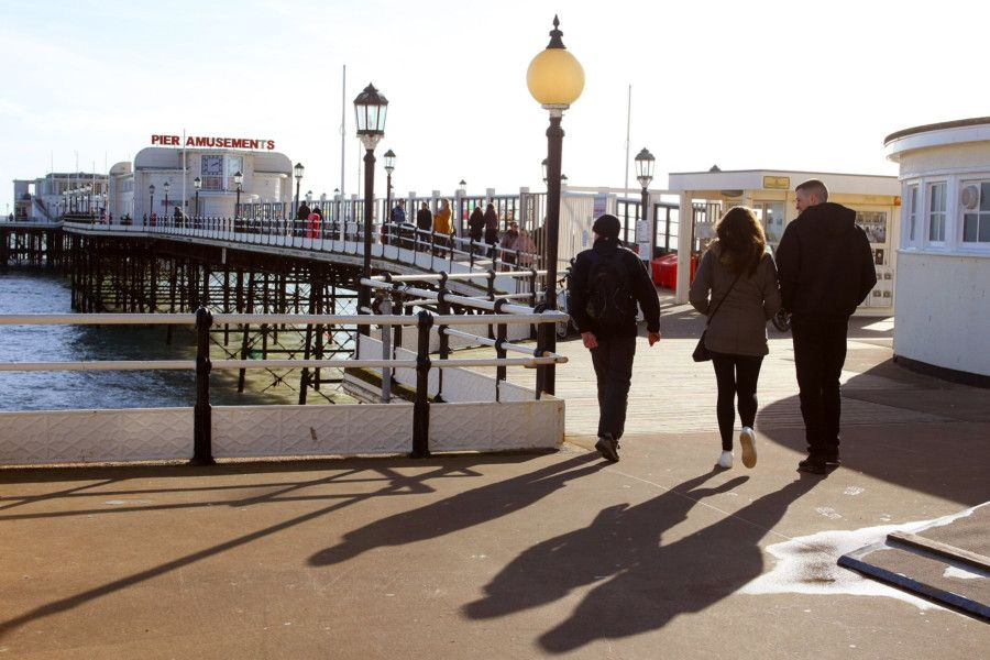 DM1923176a.jpg. Scenic: Worthing pier. Photo by Derek Martin Photography. SUS-190404-161558003