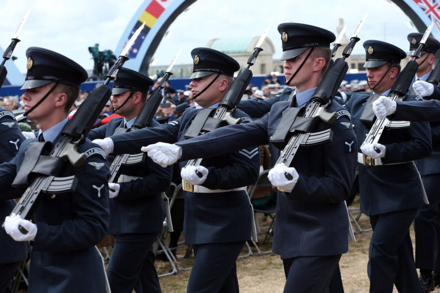 RAF. D-Day 75 National Commemorative Event, Southsea Common, Portsmouth.                    Picture: Chris Moorhouse           (050619-57) PPP-190506-165057006