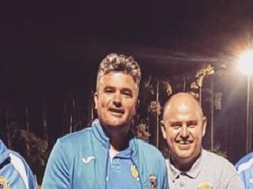 Kerry Hardwell (left) has departed his role as East Preston joint manager