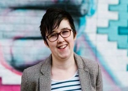Journalist Lyra McKee was murdered by a republican gunman in Londonderry last year