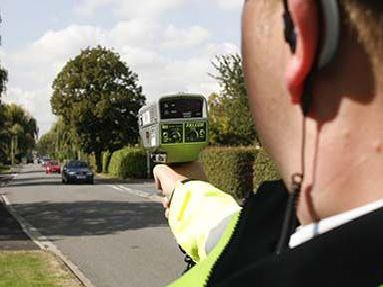 Police officers will be carrying out speed checks.