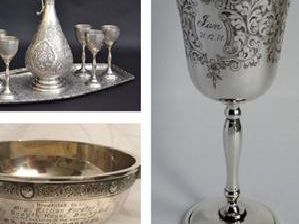 Items of silver were stolen in a burglary near Alford.
