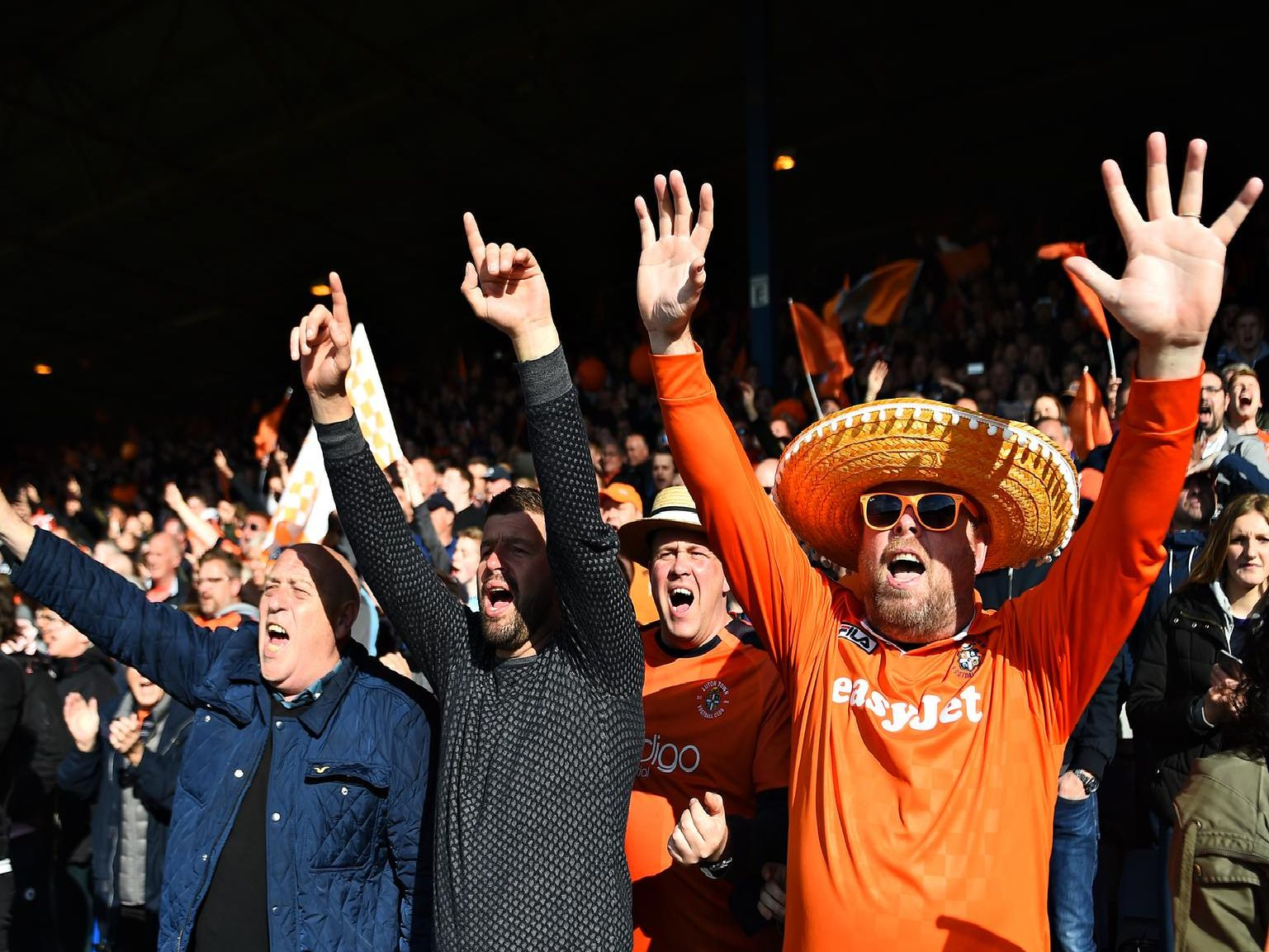 Luton Town fans will have some new grounds to travel to in the Championship next season.