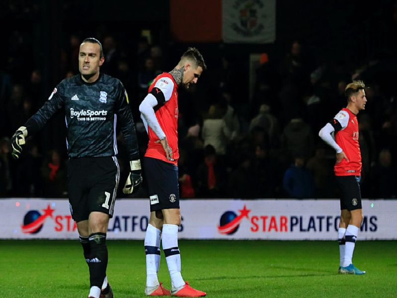 Luton's players are left to reflect on yet another defeat at the weekend
