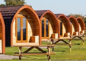 An impression of what the glamping pods could look like. EMN-191219-102915001
