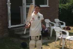 Chippingdale colts player Oli Rozario