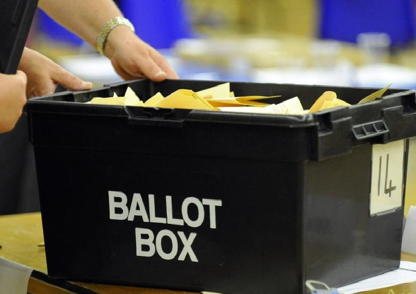 District and town/parish elections take place on May 2.