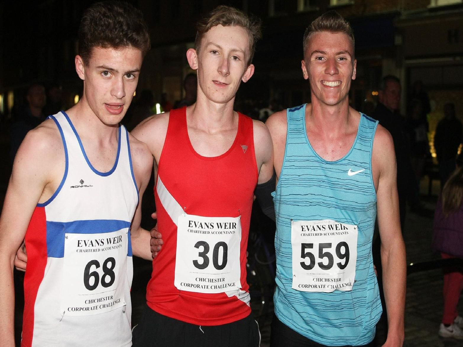 The final race night of the 2019 Chichester Corporate Challenge / Pictures by Derek Martin