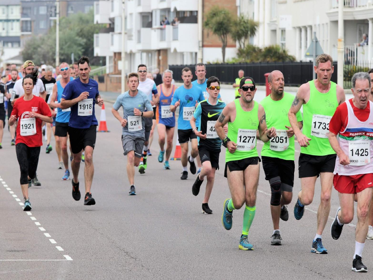 Runners tackle the 2019 Bognor Prom 10k / Pictures by Neil Cooper