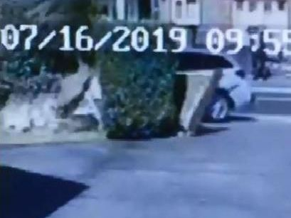 Sussex Police said the incident, captured on film by local resident Barry-Elaine Rowswell, resulted from a mechanical fault with the accelerator of the vehicle.