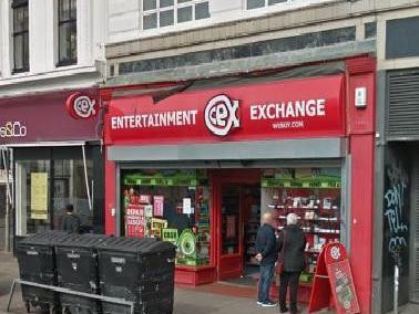 Lam tried to get away with stealing 4,000 while working at the CEX entertainment store in Brighton. Picture: Google Streetview