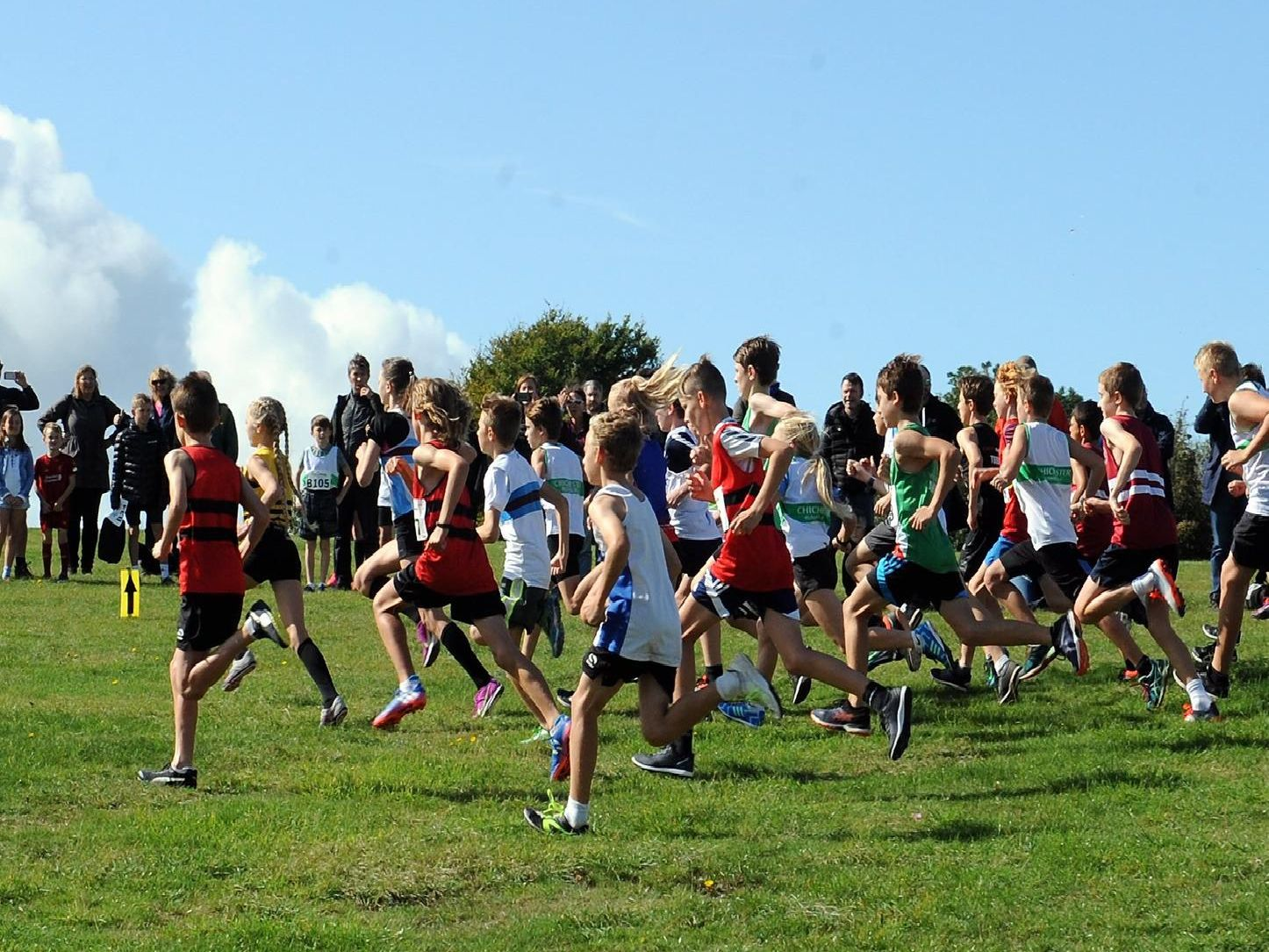 Action and teams from the Sussex cross country relay championships / Picture by Kate Shemilt