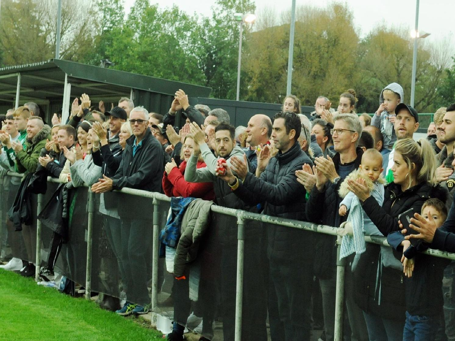 Chichester City v Enfield in the FA Cup / Picture by Kate Shemilt