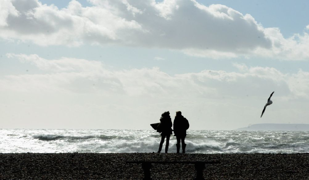 The waves at East Wittering. Picture by Kate Shemilt