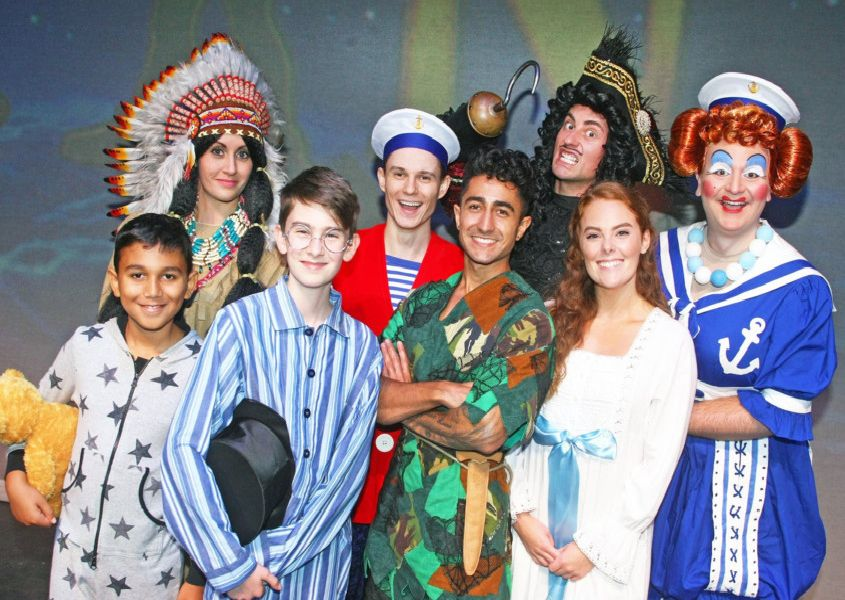Horsham Capitol Theatre pantomime of Peter Pan. Photo by Derek Martin Photography.