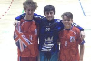 Jack Thorpe, Jay Bazzone and Alex Gadeke