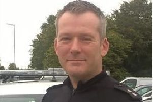 Inspector Simon Hills of the Joint Roads Policing Unit. Photo: Thames Valley Police NNL-171018-104427001