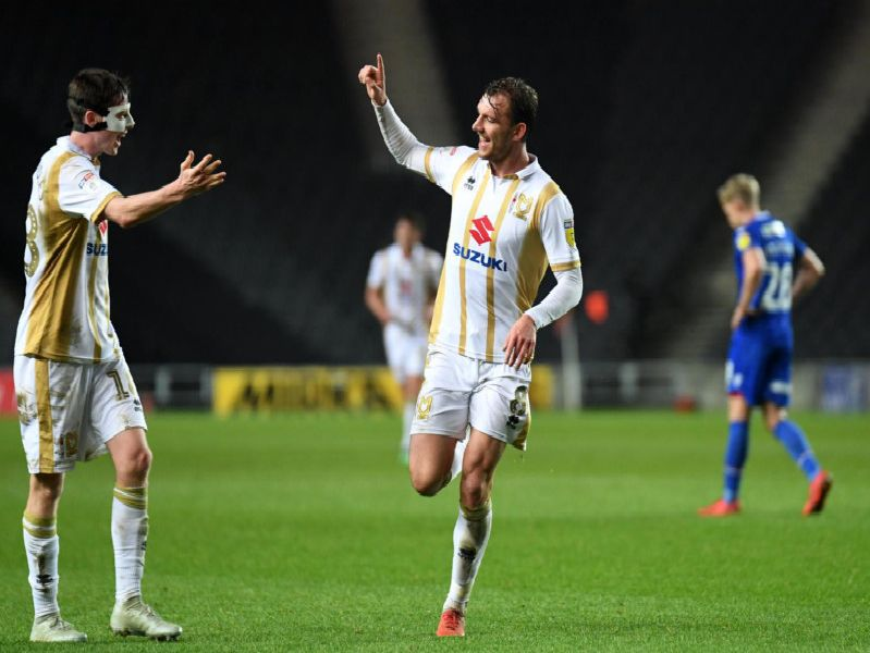 MK Dons vs Morecambe | Pic: Jane Russell