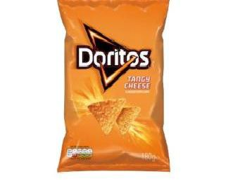 The 180g pack of tangy cheese Doritos