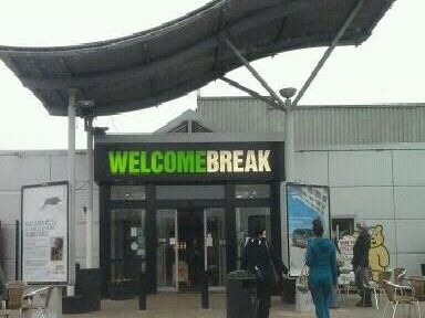 Newport Pagnell Services is closed