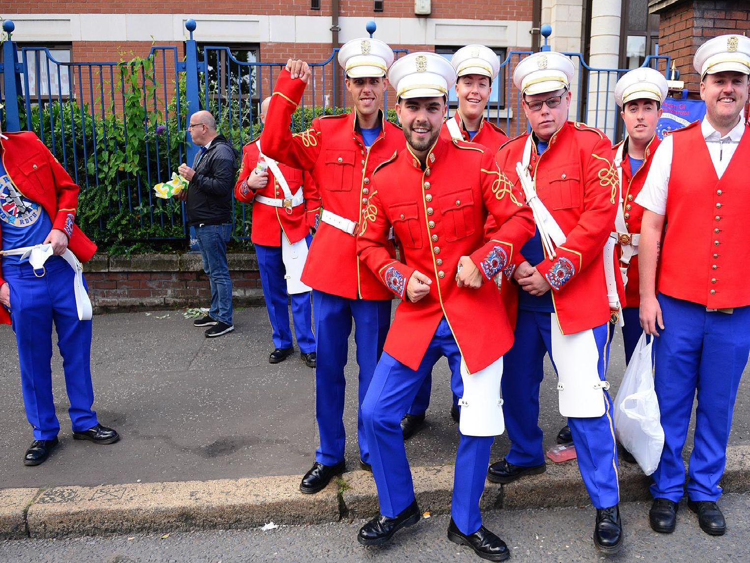 One of many photographs captured on the streets of Belfast during the 2019 Twelfth celebrations in Belfast.