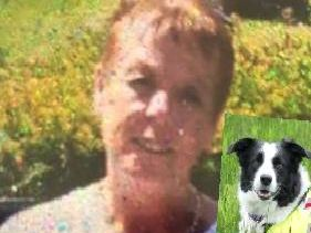 Missing N.I. woman, Carol Gray, and rescue dog Floss.