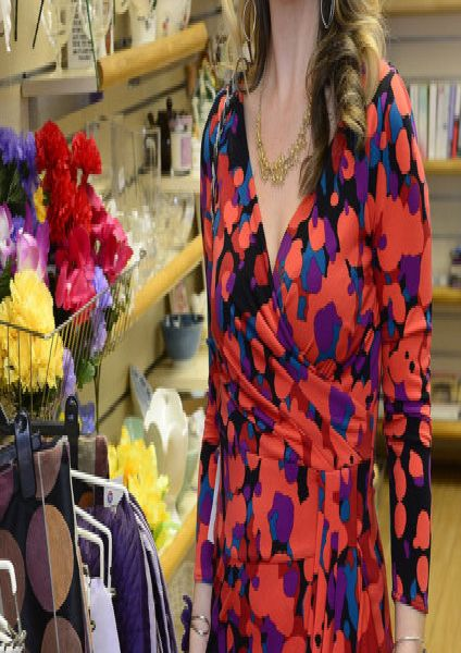 Helen McClements buys a lot her clothes from second hand shops