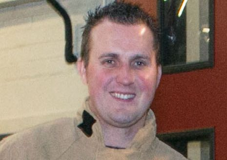 Carrick firefighters form guard of honour for 'gentle giant' Stuart Hilditch
