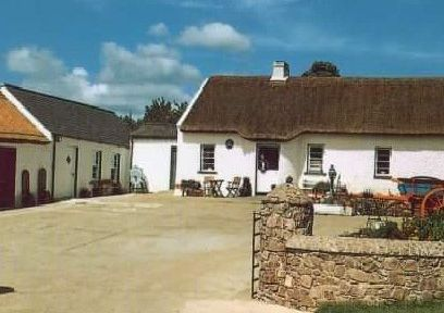 Dan Winters' cottage in Loughgall, Co Armagh where the concept of a first Orange lodge was proposed after the Battle of the Diamond in September 1795
