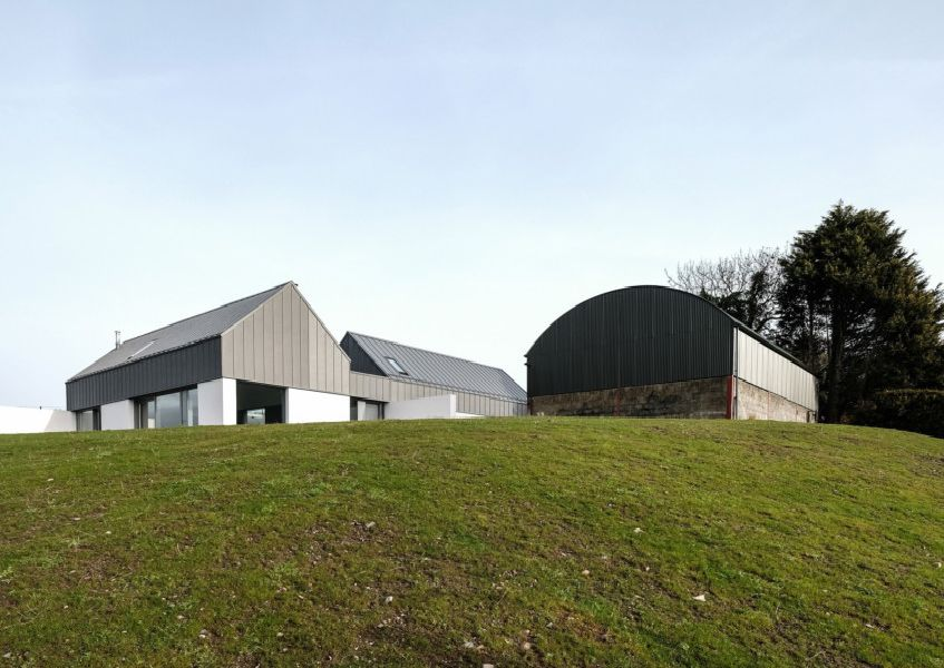 House Lessans, an exquisitely simple home in County Down designed by McGonigle McGrath, has been named RIBA House of the Year 2019