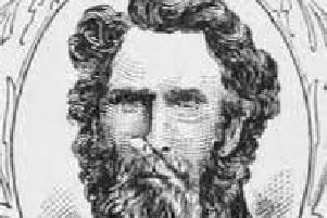 Pioneer and diarist Patrick Breen from Carlow.