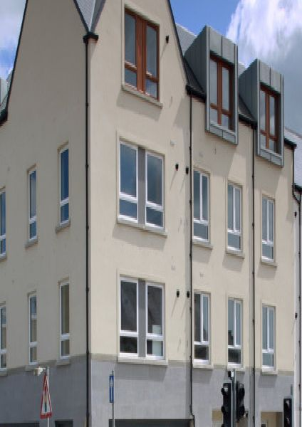 The new housing at The Square in Ballyclare.