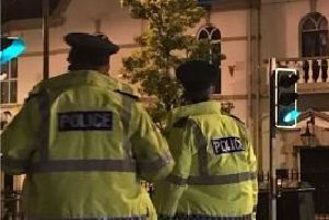 Police received reports about anti-social behaviour in Ballyclare.