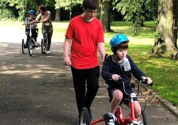 Inclusive bikes are being rolled out across the borough.