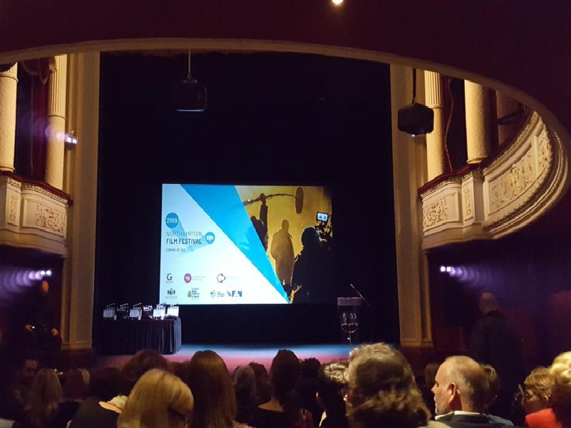 The awards night was held by social enterprise film company Screen Northants who aim to support more film production in the county and want to open up film and the  to new audiences and under-represented groups.