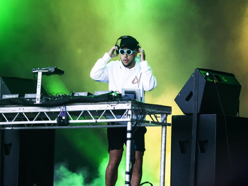 DJ Jax Jones headlined the stage on Sunday night playing hits including his UK number one 'I Got U' with Duke Dumont. Pictures Kirsty Edmonds.