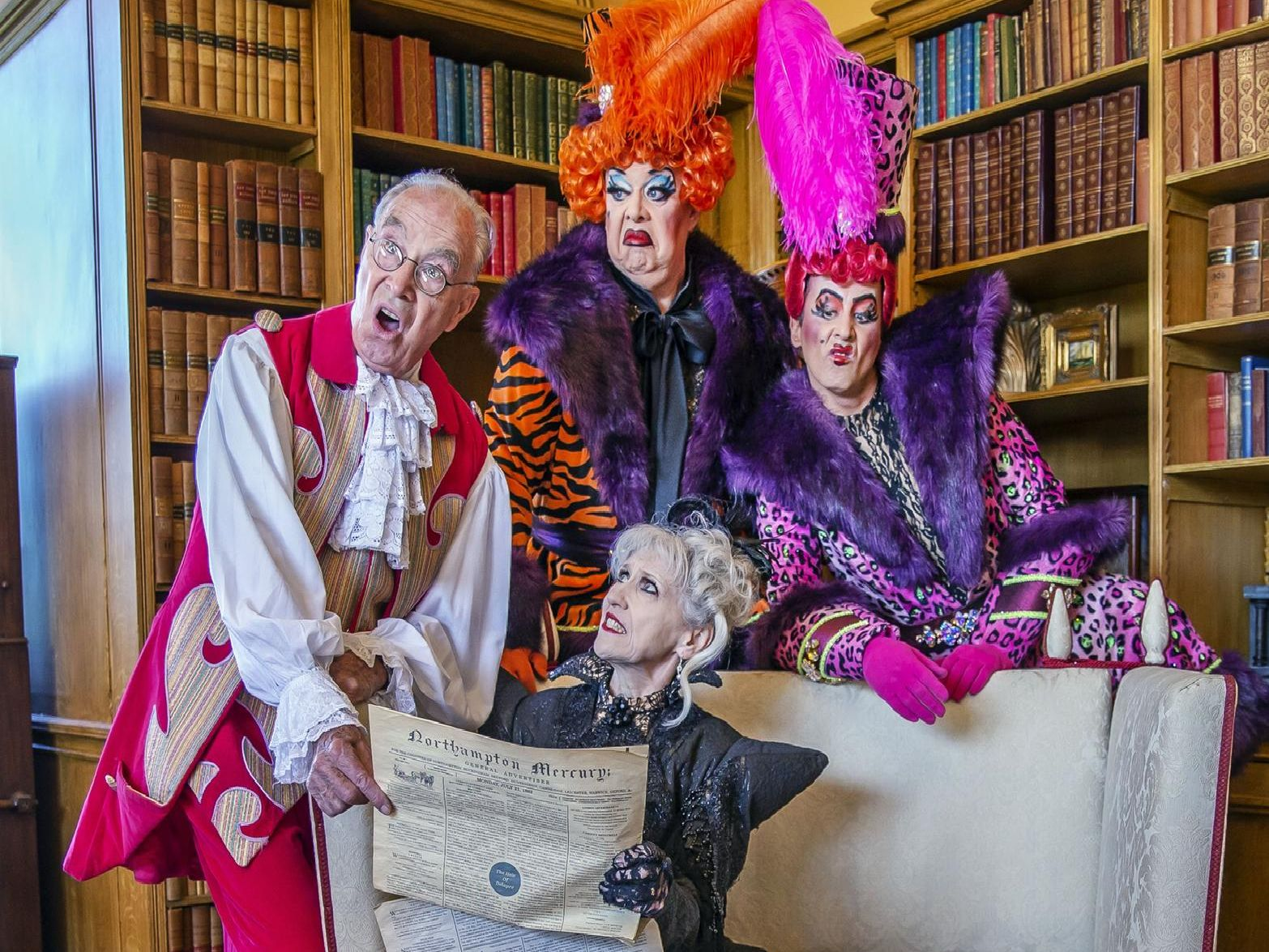 The Royal & Derngate launches its 2019 pantomime, Cinderella, at Delapre Abbey