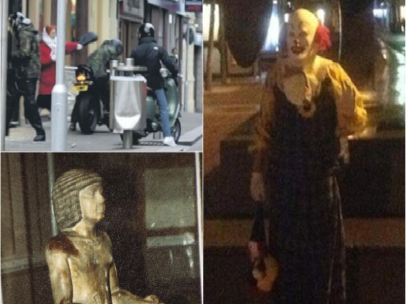 From Supergrans to creepy clowns: Seven times Northampton