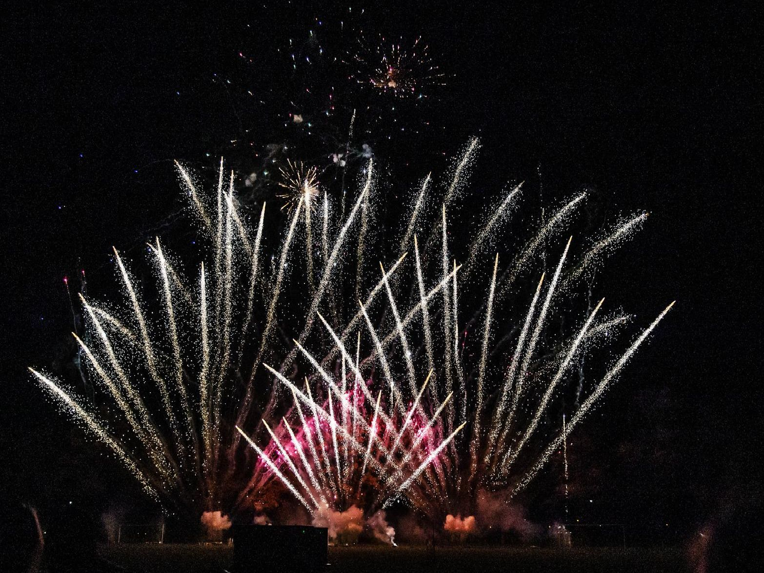 Fireworks at The Racecourse