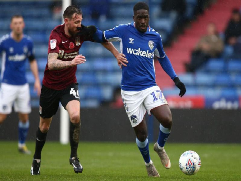 Cobblers spent 80 minutes ahead at Oldham on Saturday but still only managed a draw.