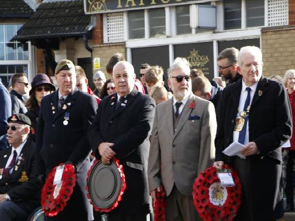 Finedon Remembrance Sunday 2018
