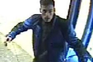 Police want to speak to this man after a bus driver was assaulted in Northampton.