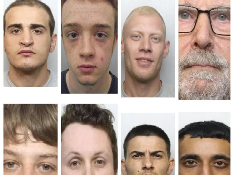 Criminals jailed in Northamptonshire